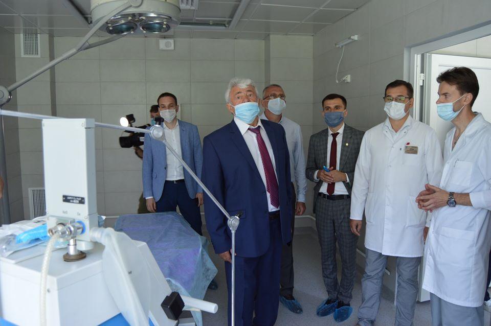 У Львівському онкоцентрі відкрили оновлену консультативну поліклініку