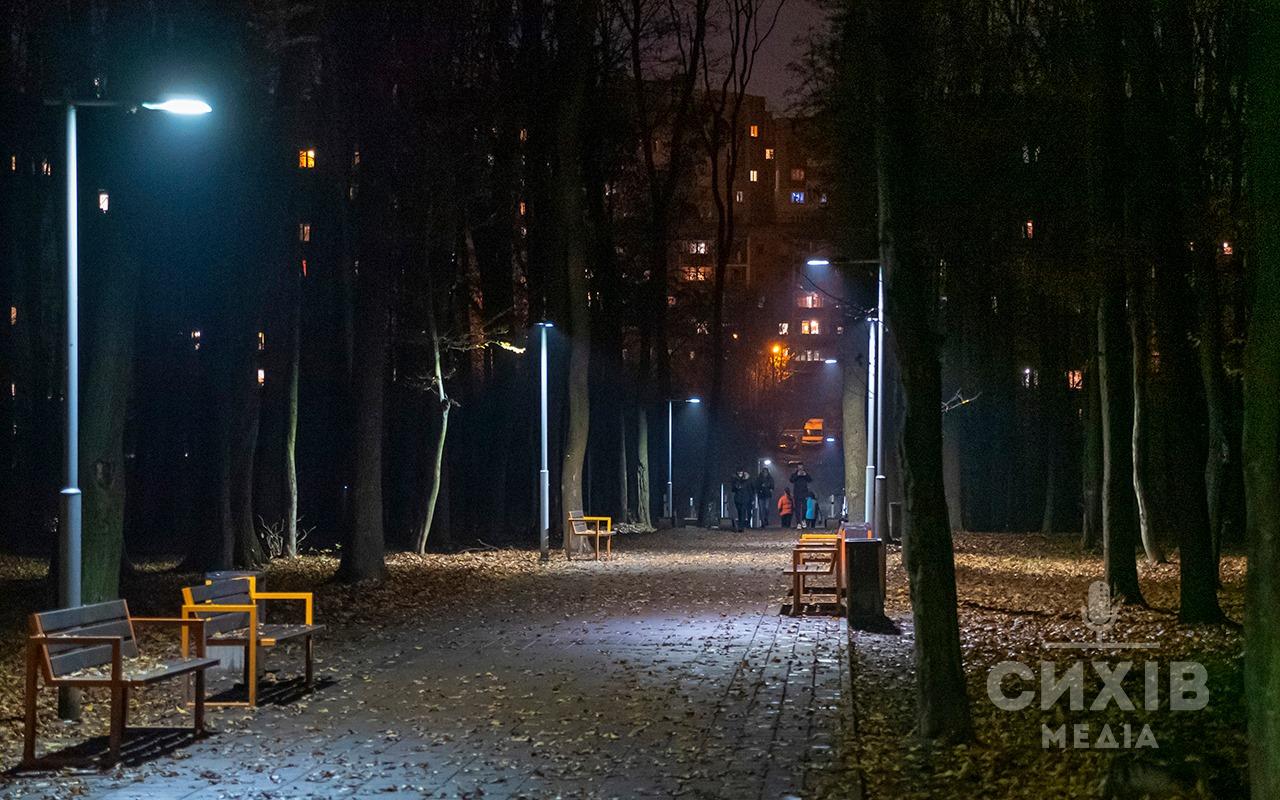 Суд арештував крадія ліхтарів з сихівського лісу