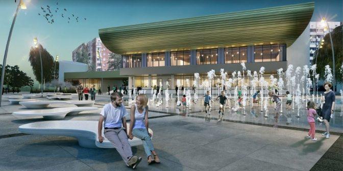 На Сихові буде новий фонтан та амфітеатр