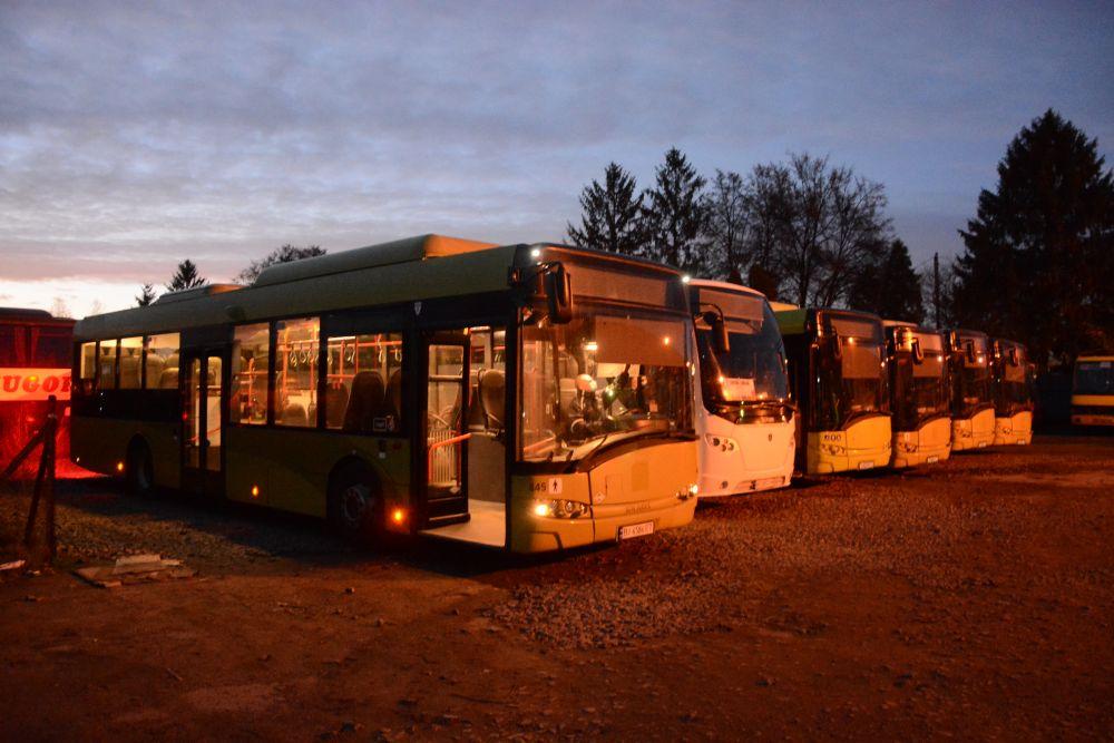 На маршруті №25 з'являться 8 екоавтобусів