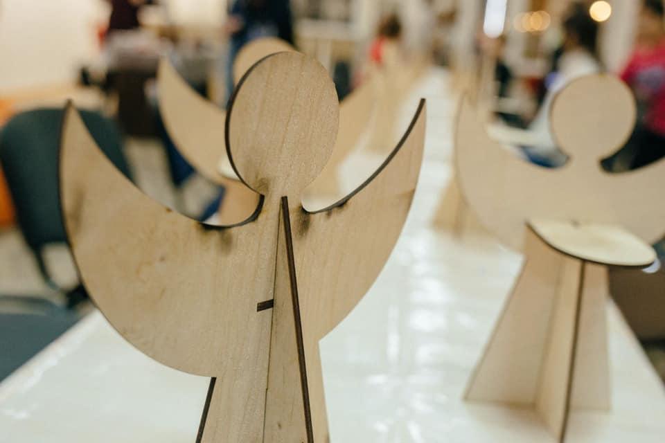 У центрі Довженка робитимуть різдвяних ангеликів