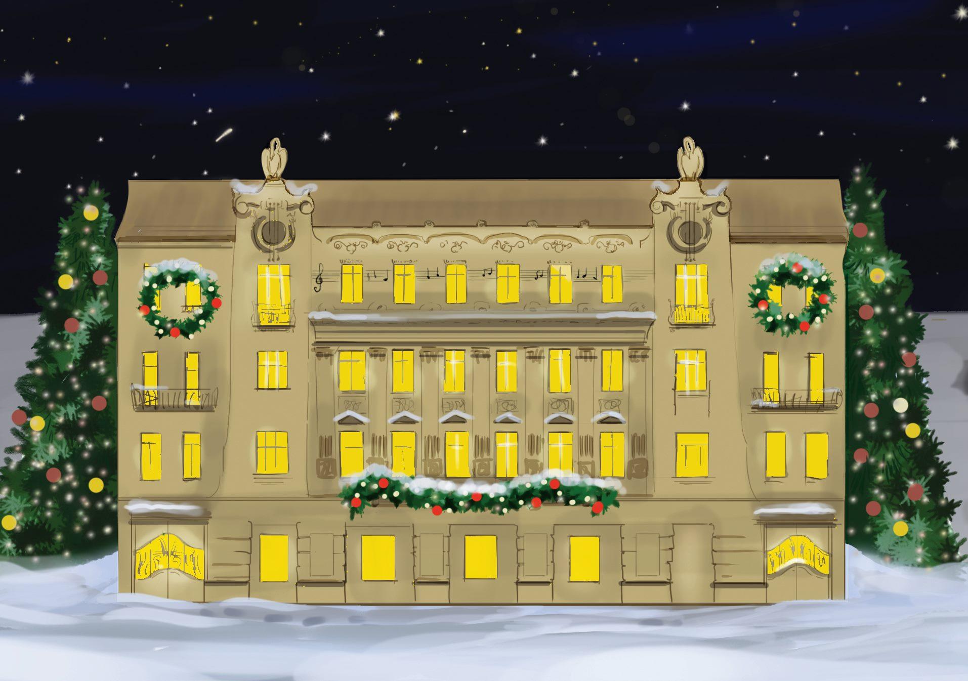 Різдвяно-новорічні події у Львівській національній філармонії: 22-27 грудня