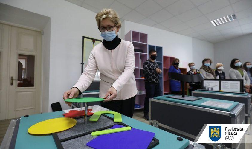 Школярам Львова привезли третю мандрівну лабораторію