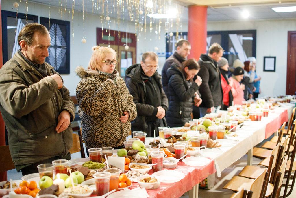 Святвечір та Різдво для малозабезпечених і безпритульних: локації