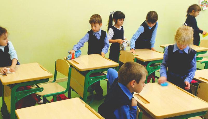 Учні більше не прибирають в кабінетах