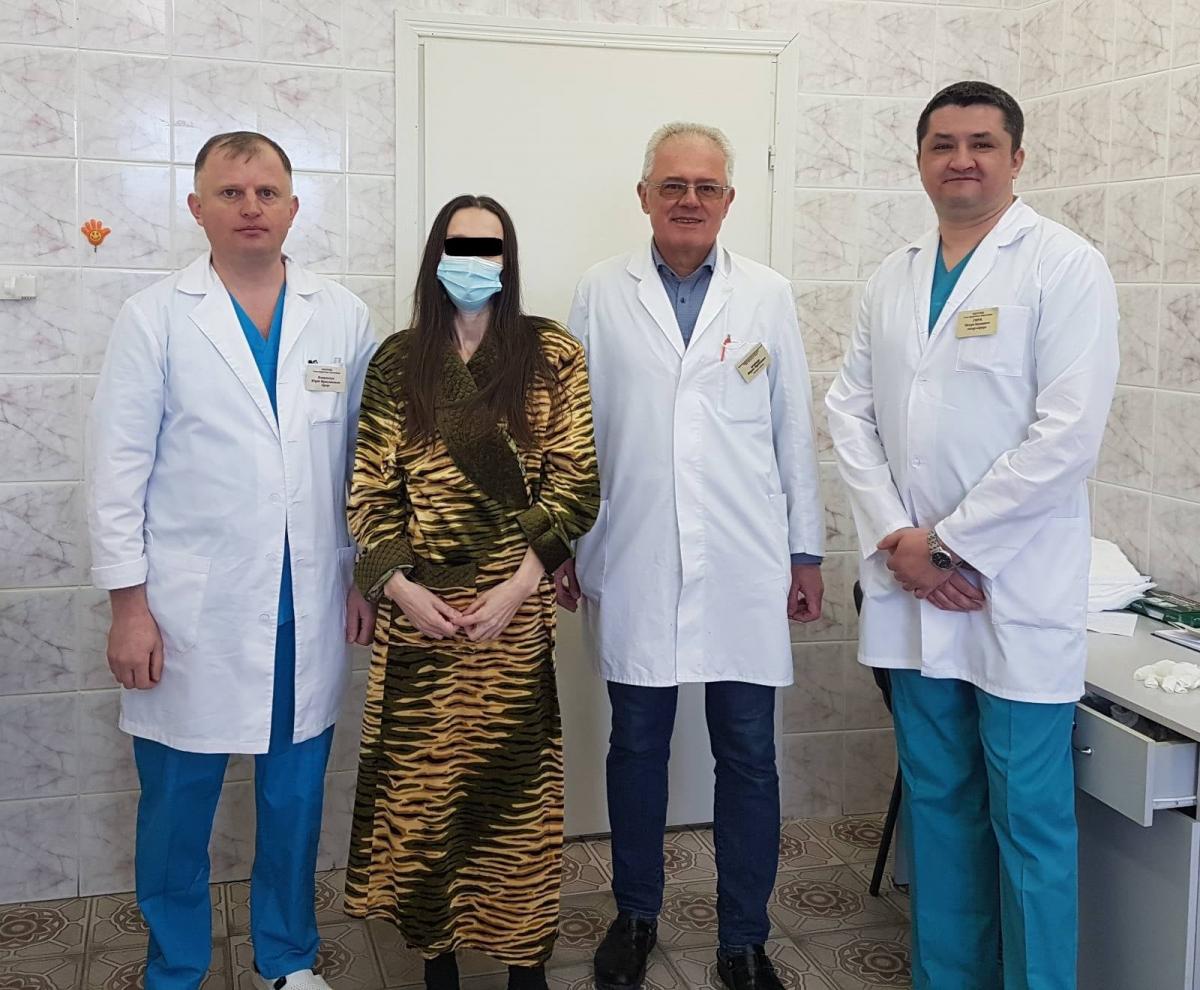 В сихівському онкоцентрі видалили 30-ти кілограмову пухлину