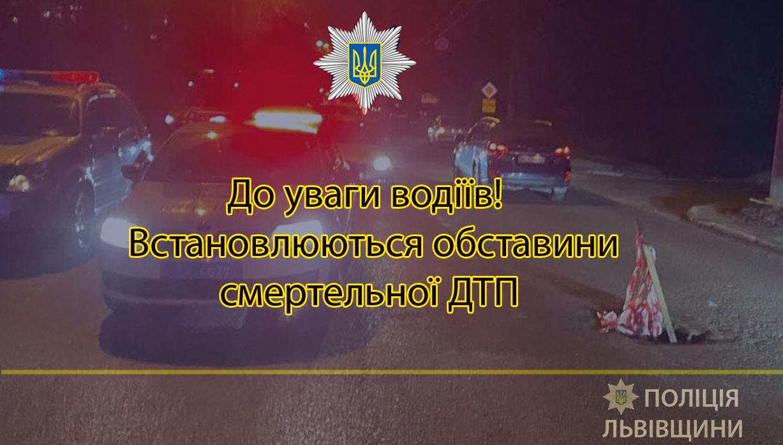 Поліція просить допомогти встановити обставини ДТП на вул. Зеленій