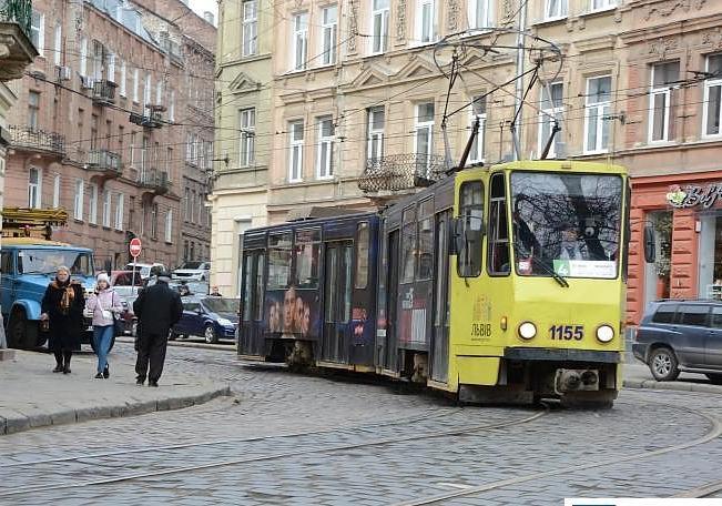Трамвай №4 тимчасово курсуватиме через Городоцьку