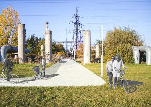 Місто оголосило тендер на облаштування Зеленої лінії в парку Івана Павла ІІ
