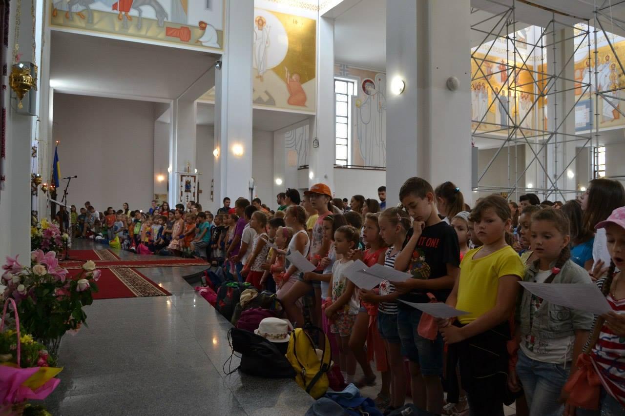 Літні канікули з Богом: табори для дітей на Сихові