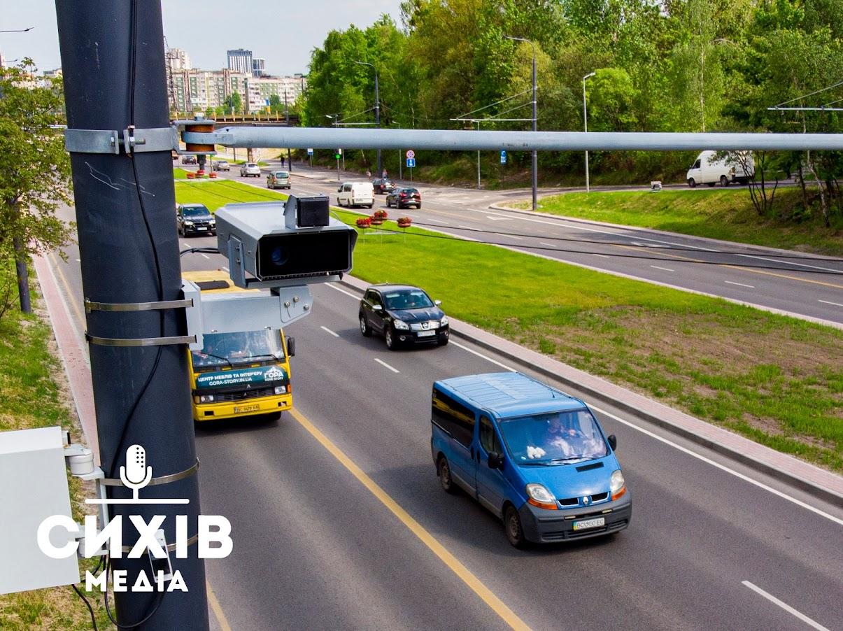 Чи запрацювали камери фіксації порушень на дорогах в Сихівському районі?